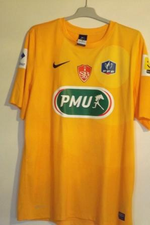 Maillot J.Hartock Coupe de France 12/13