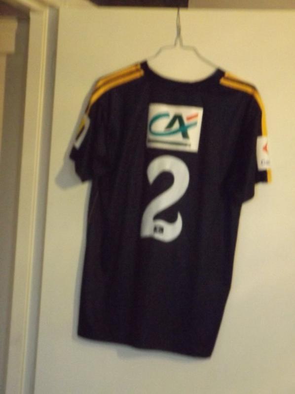 Maillot Z. Bergdich 8ème tour de Coupe de France 12/13
