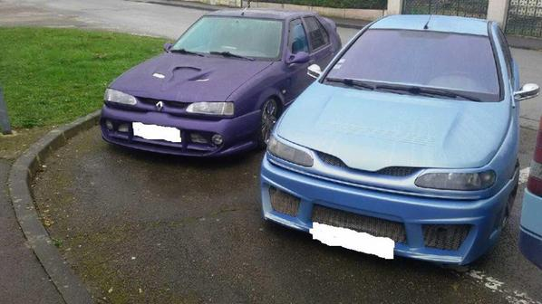 Renault 19 et Renault laguna