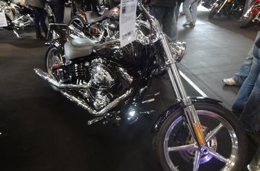 Salon de  moto a Saarbrucken