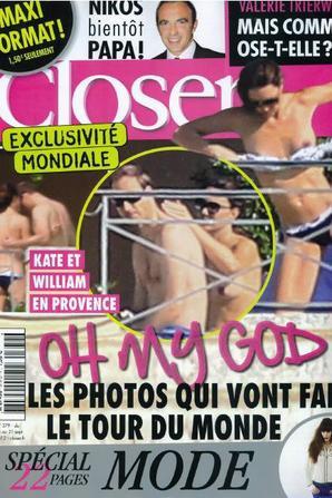 Photos de Kate nue: Le parquet annonce l'ouverture d'une enquête préliminaire pénale
