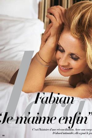 Lara Fabian: Découvrez toutes ses photos nue dans le dernier numéro de Gala