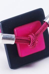 Les bagues élastiques 24mm carrées