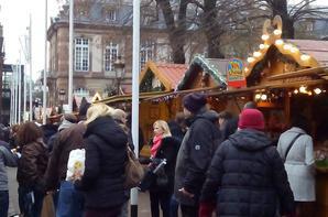 marché de Noêl à Strasbourg