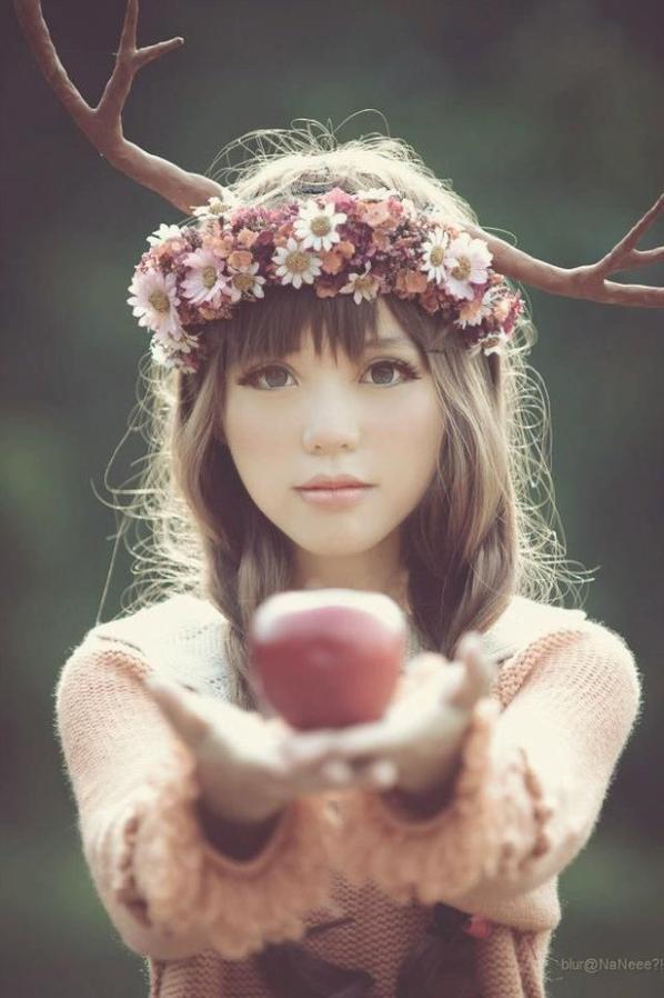 Mori Girl Lolita Forest Girl Fille de la Forêt