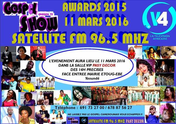 GOSPEL SHOW AWARDS 2016