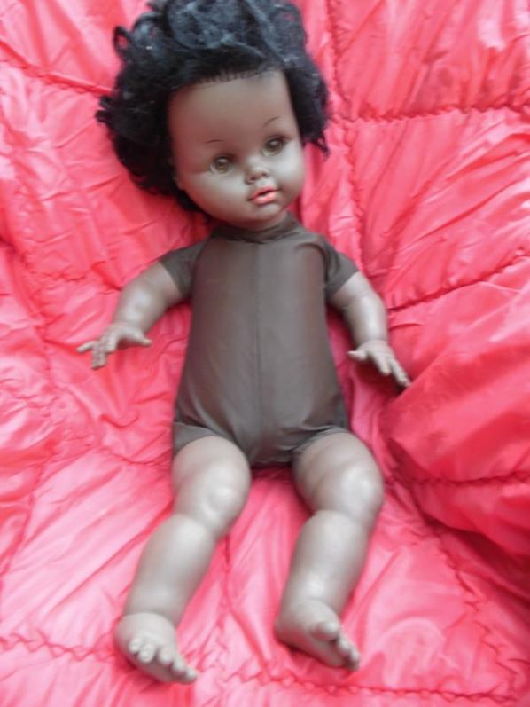 loi des séries ,poupées noires !