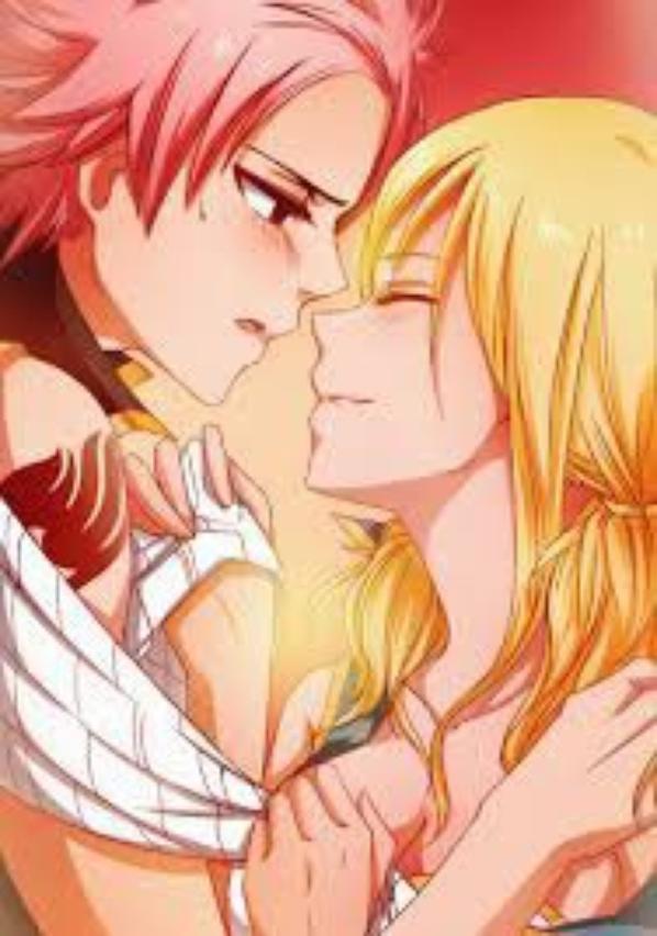 """voici d'autre photos du couple """" natsu et lucy """" de fairy tail"""