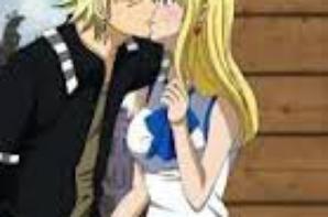 """le couple """" sting et lucy """" de fairy tail et saberooh"""
