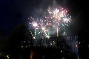 subblime le feu d'artifice hier soir a cholet 9
