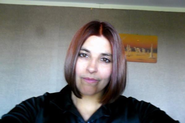ce matin,je suis aller chez le coiffeur pour une couleur