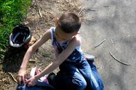 petite balade au parc chambort a cholet avec mon loulou et ma chienne 4