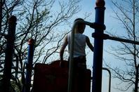 petite balade au parc chambort a cholet avec mon loulou et ma chienne 6