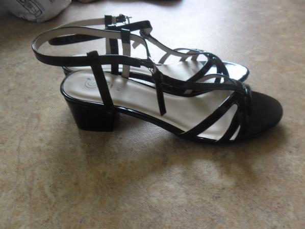 mes nouvelles sandales