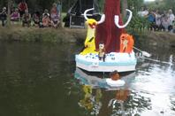 """bateaux fleuris theme """"disney"""" et animations a st amand de sevrè 3"""