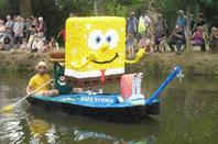 """bateaux fleuris theme """"disney"""" et animations a st amand de sevrè 4"""