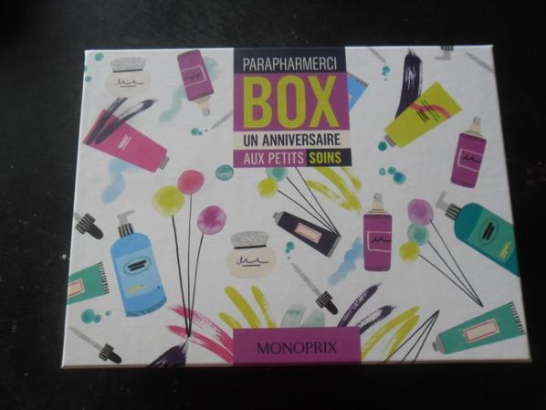 j'ai gagner cette superbe box beautèè a un jeu concours gratuit sur le net