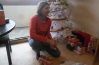 ouverture des cadeaux de noel avec ma fille et ma soeur 2
