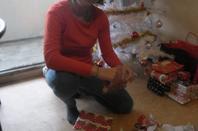 ouverture des cadeaux de noel avec ma fille et ma soeur 3