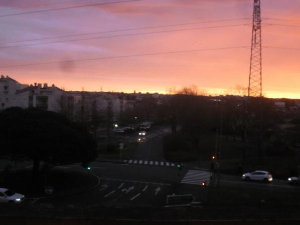 magnifique le ciel de cholet ce matin