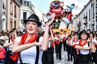 defilè du carnaval de jour 2018 de cholet 43
