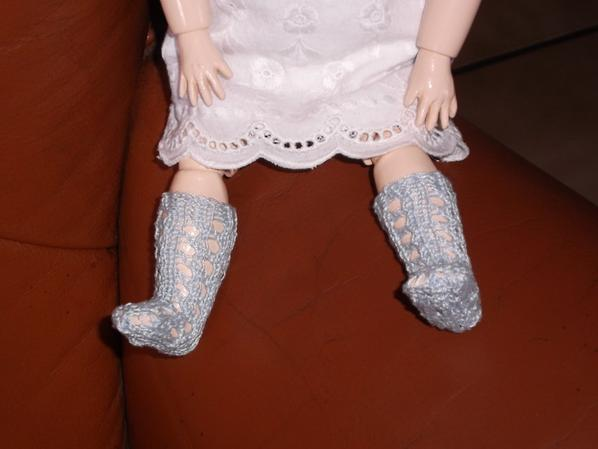 les chaussettes de bleuette