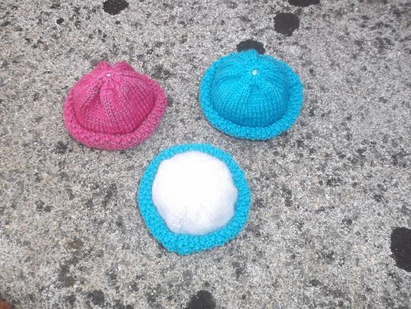 la ronde des petits chapeaux pour Loulotte
