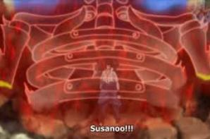 Sasuke Uchiwa et la technique du Susanoo ♥