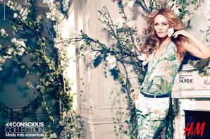 Vanessa Paradis égerie de la collection Printemps été