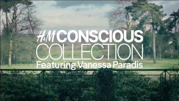 Vanessa Paradis égerie de la collection Printemps été