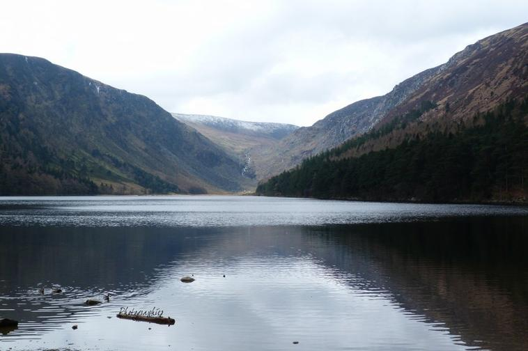 Irlande : Wicklow, glendalough