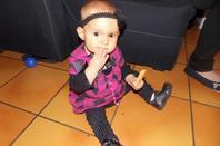 mon bebe qui va avoir 10 mois le 23,^^ que le temps passe vite trop d'amour trop de joie je t'aime ma fille