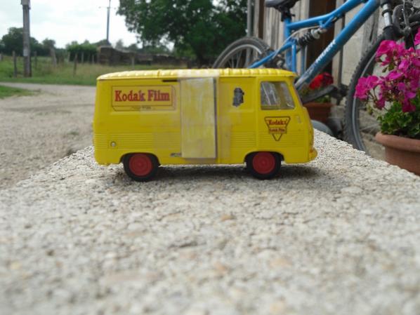 La camionnette de l'exploitation