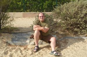 sur la jolie plage de Cavalaire/mer