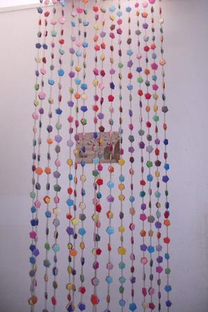 rideau moustiquaire (je me suis inspiré de la deuxieme photo)
