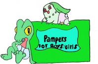 couche pour pokémon