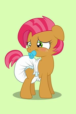 bébé my little pony