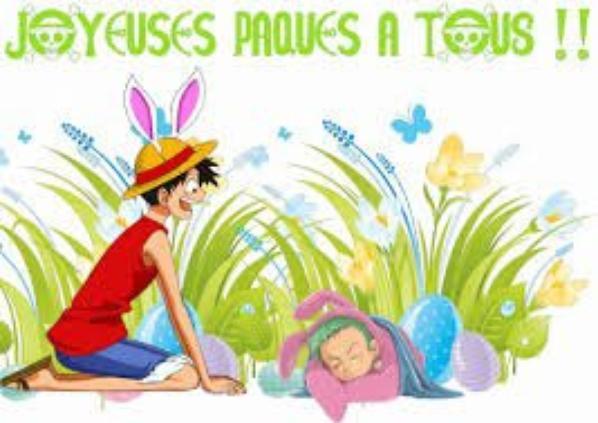 Joyeuse pâques à tous :-)