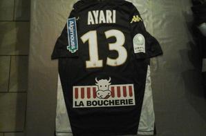 111 ième maillot porté par Khaled AYARI à Auxerre