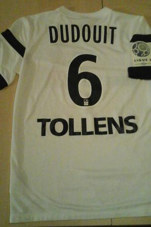 114ième maillot par Emeric DUDOUIT à Clermont