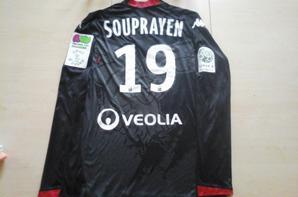 115ième maillot par Samuel SOUPRAYEN à Clermont