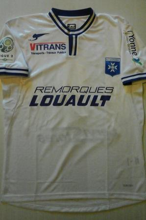 123ième maillot porté par Ruben AGUILAR