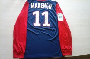 124ième maillot porté par Terence MAKENGO face au havre