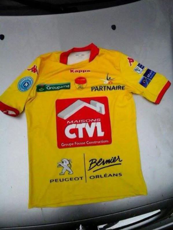 135ième maillot porté par jordi DELCLOS