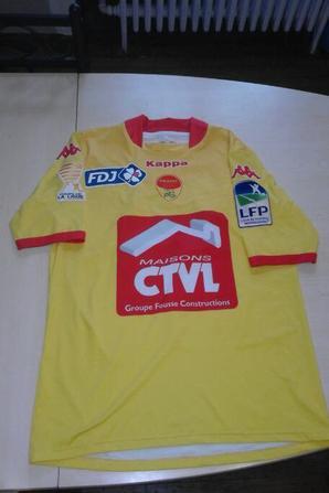 148ième maillot porté par Kévin DUPUIS face à Tours