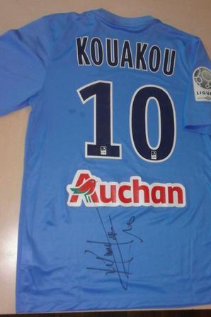 149ième maillot porté par Christian KOUAKOU