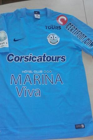 151ième maillot porté par Bogdan MILOSEVIC face au Havre