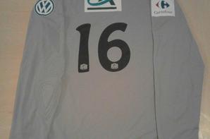 167ième maillot porté par Simon Pontdemé,gardien de Chambly face à Orléans