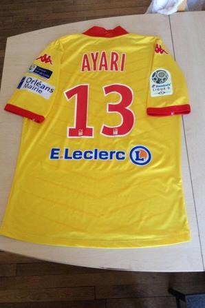 199ième maillot porté  par Khaled AYARI face à Tours