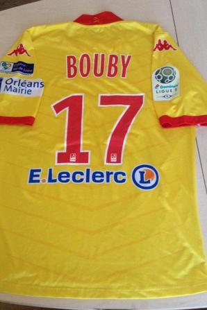200ième maillot porté par Pierre BOUBY
